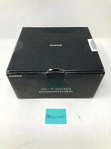 Fujifilm X-T200 Mirrorless Digital Camera XC15-45mm Dark Silver