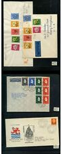 NETHERLANDS COLLECTION LOT 4 COVERS SOME FIRST DAY CANCELS $$$$$$$