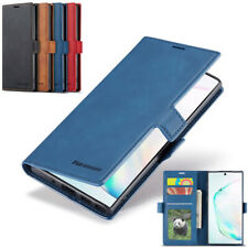Retro Magnetic Leather  Case Flip Wallet Stand Card Back Cover For Smart Phone