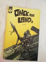 ONCE OUR LAND BOOK 2  #1 Scout Comics PETER RICQ In Hand - SOLD OUT, HTF NM