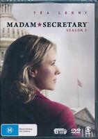 Madam Secretary Third Season 3 Three DVD Region 4 Tea Leoni