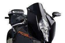 KTM RC8 / R 1190 2008 > CUPOLINO PUIG DOPPIA BOLLA NERO RACING PARABREZZA