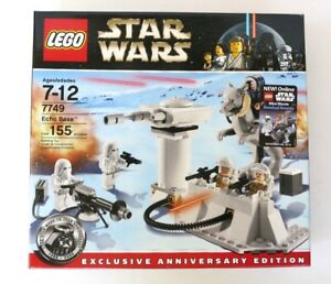 LEGO STAR WARS SET 7749 ECHO BASE RETIRED NEW FACTORY SEALED EXCLUSIVE EDITION