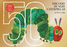 The Very Hungry Caterpillar: 50th Anniversary Golden Edition by Eric Carle -NEW