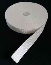 Rollladen Gurt Gurtband Band Breite 23mm 10m Weiß für Gurtwickler Wickler Rollo