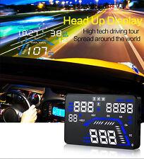 "1pc 5.5"" Car HUD GPS Head Up Display Fuel Consumption Speedometers Compass Q7"