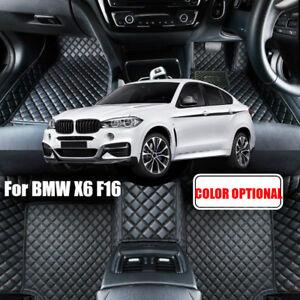 Car Floor Mat Pad For BMW X6 F16 2015 2016 5 Seats Right hand drive Carpet Mat