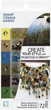 Ek Success Create Your Style with SWAROVSKI Crystal Asst 72pc/Pkg - SWAMP