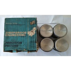 "Austin A60 Morris Oxford Wolseley 16/60 Piston & Ring Set 1622cc +060"" 1962-1971"