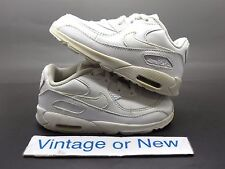 Nike Air Max '90 White Leather Running Shoes Toddler 2013 sz 8C