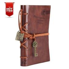 Vintage Writing Journal Notebook Handmade Retro Poetry Leather Key Book Diary