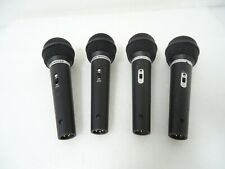 LOT OF 4 AUDIO TECHNICA LIMITED EDITION ST90 MICROPHONE LO-Z NICE DEAL !!!