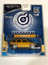 Hot Wheels Dropstars Hummer H3 Phat Lip Custom Gold Model 1:50 Scale G7064