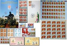 Precious stamp collection about President Ho Chi Minh of Vietnam 1945-2020