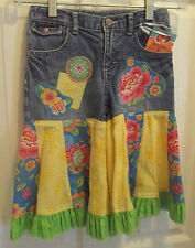 Jazzy Jeans RARE Boutique DIY Ruffles Custom Country Pants Jeans Girls Size 5t