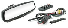 ROSTRA Rearview Mirror w/Multiple Inputs Includes Backup & 2 Blind Spot Cameras
