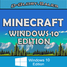 Minecraft: Windows 10 Edition (PC, ACTIVATION KEY, FULL GAME, NO BOX)