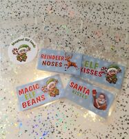 Christmas Eve Box Fillers  6x Bags Only Reindeer Noses Elf Kisses Santa