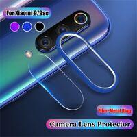 d28887264ba de vidrio templado Protector de lente de la cámaraFor Xiaomi Mi 9 / 9 se
