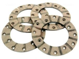 BRAKE DISC LINING KIT, OD 142mm, FOR IH & VOLVO TRACTORS (various, see listing)