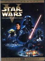 ✅ Star Wars V 5 The Empire Strikes Back DVD (1) Disc Remastered Fullscreen USA 1