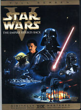 Star Wars V 5 The Empire Strikes Back DVD (1) Disc Remastered Version Fullscreen