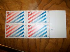 US Postage Stamp 1982  U.S.A. & The Netherlands Block of  4 - 20c Stamps