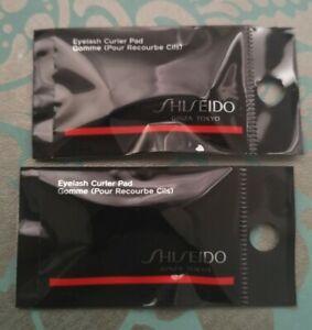 Brand New BNIP Original Shiseido Eyelash Curler Pad pair X2 packs (4 pads)