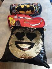 Kids Cushions Disney Cars Batman