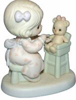 PRECIOUS MOMENTS FIGURINE #PM942 - SHARING 1994 MEMBERS ONLY (OPEN BOX)