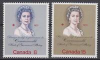 CANADA #620-621 Royal Visit Mint Never Hinged