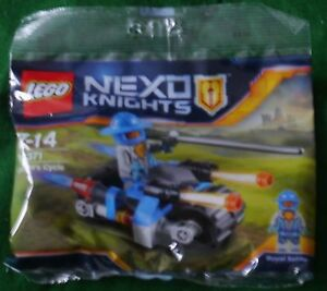 LEGO: NEXO KNIGHTS - KNIGHT'S CYCLE - COMPLETE SEALED KIT [Nn1]