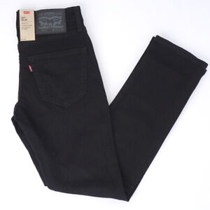 Genuine LEVIS Mens 511 Slim Fit BLACK  Stretch Denim Jeans LEVI