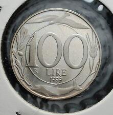 1999  Repubblica Italiana 100 lire FONDO SPECCHIO  da divisionale