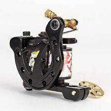 NEW Custom Handmade Pro Tattoo Machine Gun Dual 10-Wrap Coils Lightweight Quiet