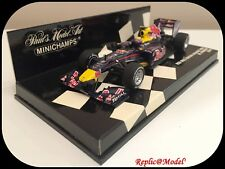 █★ 1/43 RED BULL RACING RENAULT RB6 M. WEBBER #6 MINICHAMPS 410100006 NEUF ★█