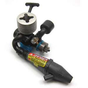 Carson CAR-0213 2,5 ccm Force Nitro Motor + Reso + Seilzug + Kupplung + Glocke