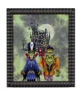 GLENDON PLACE Cross Stitch Pattern Chart FRANK'S FAMILY PORTRAIT Halloween