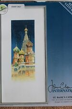 Heritage Stitchcraft Counted Cross Stitch Chart St. Basil's Cathedral J. Clayton