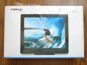 Nixplay Edge 8-inch Wifi Cloud Digital Photo Frame - Brand New/Sealed