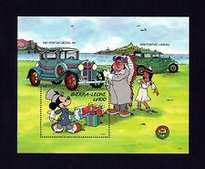 Sierra Leone - 1989 - Disney - Classic Car - Pontiac - Mickey - Mint Nh S/Sheet!