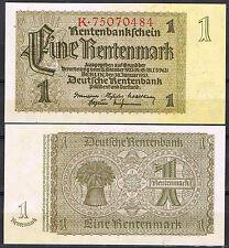 ALEMANIA GERMANY - 1 RENTENMARK 1937  Pick 173b  SC  UNC