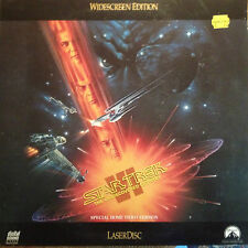 Star Trek VI The Undiscovered Country Widescreen  Laserdisc LV32301-WS