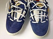 Vtg Airwalk ANDY MACDONALD 710002 Mens US 10 1/2 Skate Shoes Sneakers Blue Suede