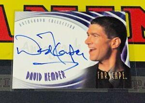 """Farscape Season 2 - A11 David Kemper """"Executive Producer"""" Autograph Card"""