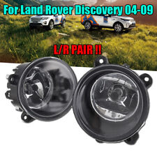 2xFront Clear Fog Light lights Lamp w/H11 Bulbs For Land Rover Discovery 04-2009