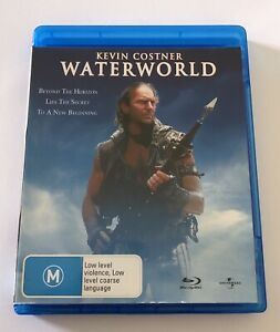 Waterworld Blu Ray VGC Rated M Kevin Costner Region B Aus Movie 🍿 Drama Action