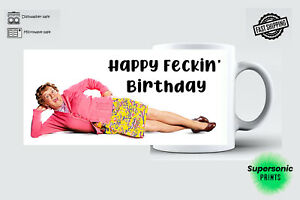 Personalised Mrs Browns Boys Birthday Mug Gift Idea Any Quote Funny