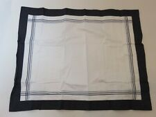 Ralph Lauren Suite Navy Engineered Embroidered King Sham NIP