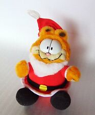Garfield Stuffed Christmas Santa Claus 1983 United Syndicate